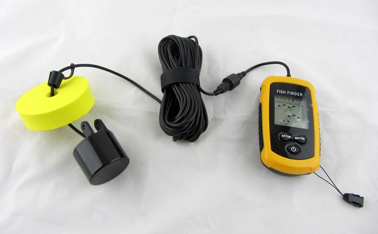 portable sounder echo sounder fish finder depth sonar sounder, Fish Finder