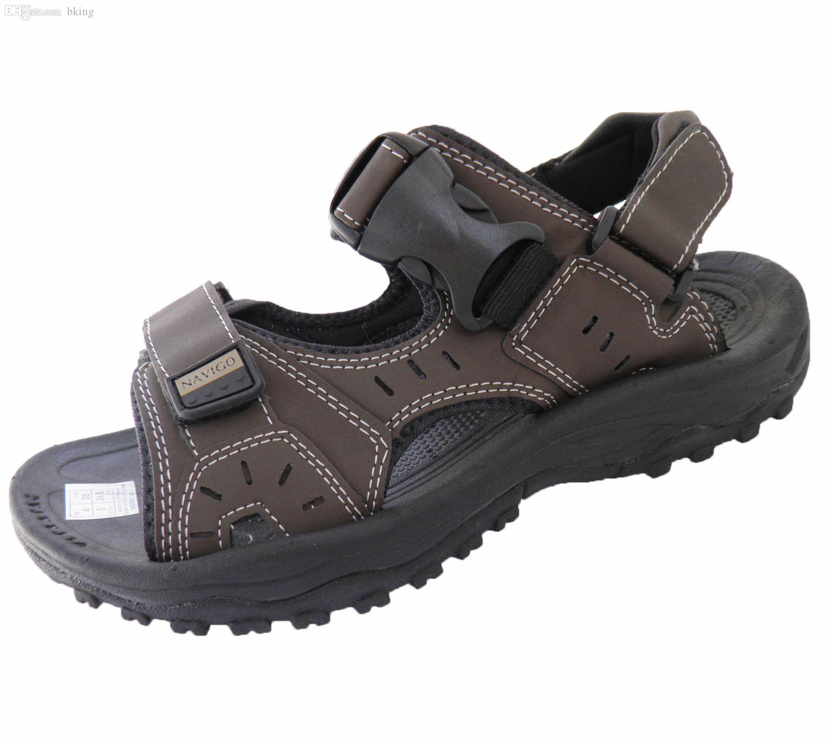 Sandals and shoes wholesale - Wholesale Vietnam Shoes Male Sandals Male Sandals Male Sandals Water Beach Sandals Slip Resistant 901 Blue Shoes Cheap Sandals From Bking 51 11 Dhgate