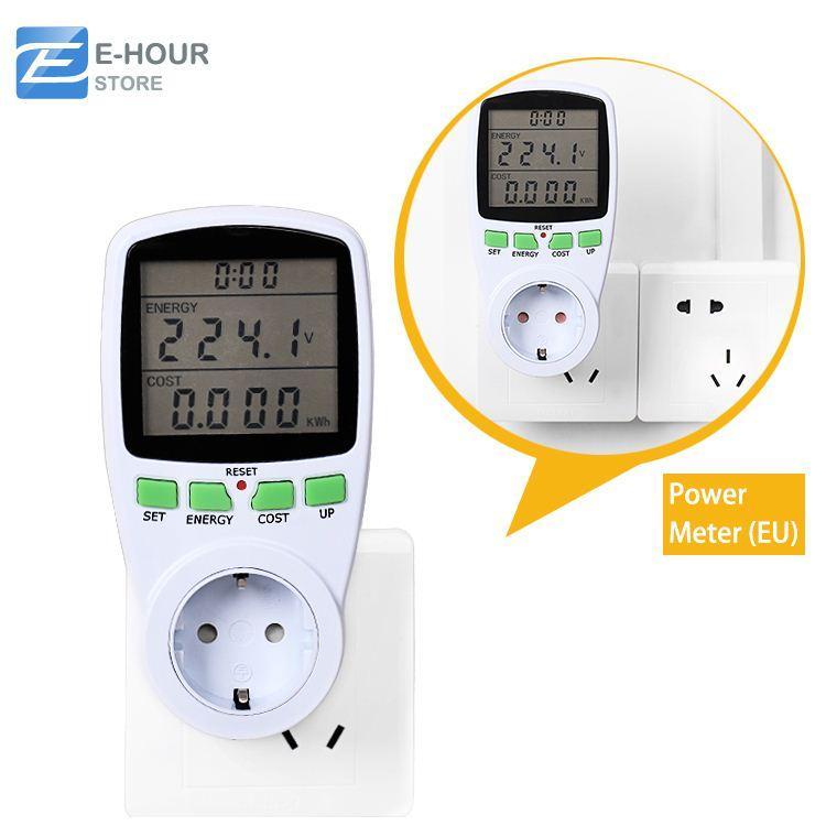 Household Energy Meter : Online cheap household power meter electric energy saving