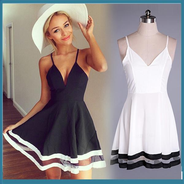 Images of Black And White Summer Dresses - Get Your Fashion Style