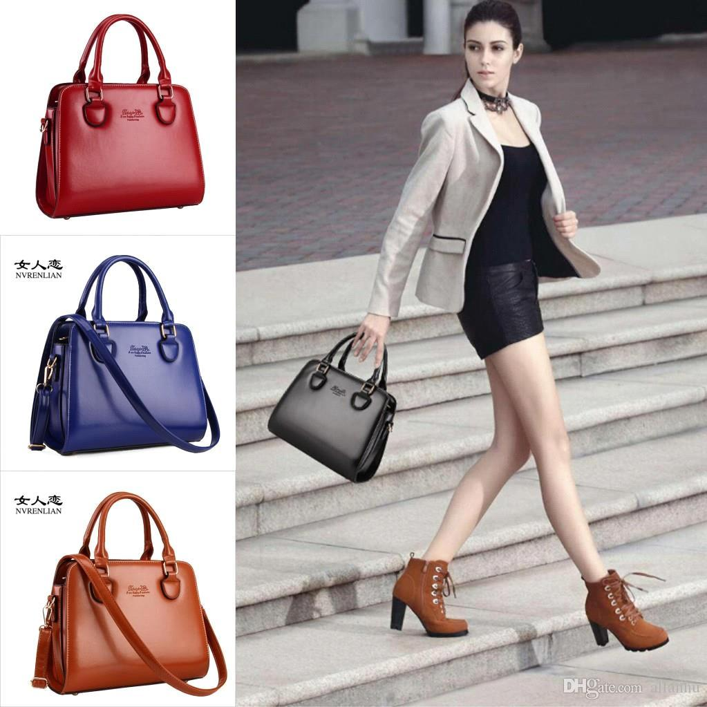 Awesome Brand Women Handbags Shoulder Bags Fashion Pu Leather Messenger Bag