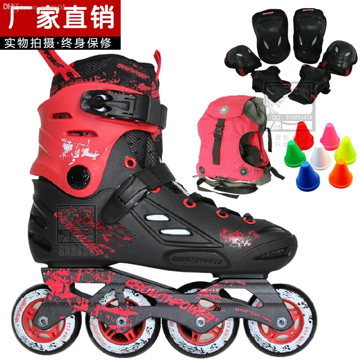 Roller skating shoes buy online - Online Cheap Wholesale Adult A6 Skatse Roller Skates Skating Shoes A6 Skating Shoes Slalom Skates By Pretty05 Dhgate Com