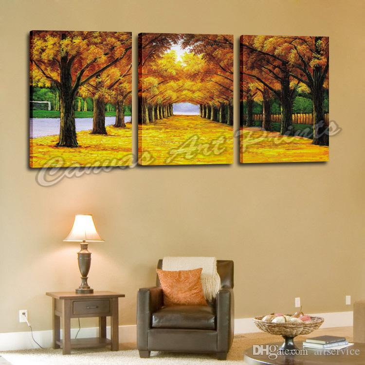 Cheap Wall Hanging Painting Panel Wall Art 3 Piece Canvas Art Painting