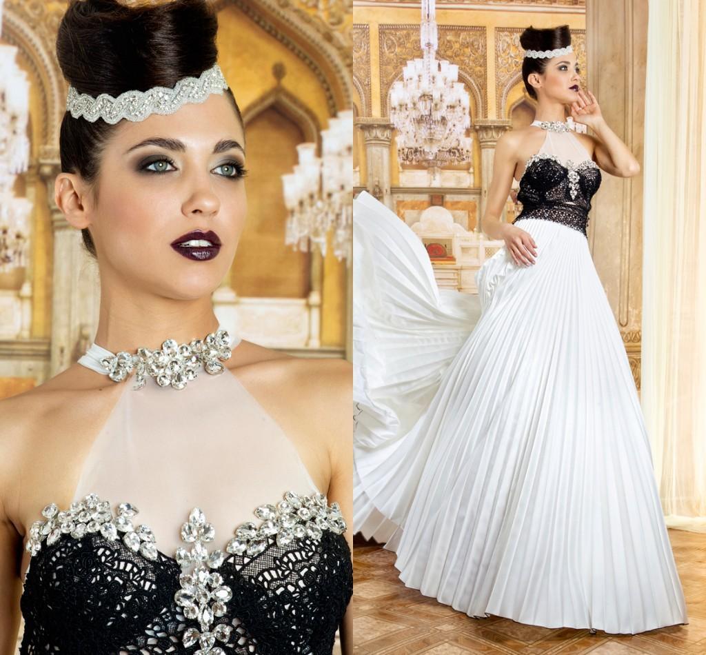 Discount 2015 vintage plus size gothic halloween bridal for Halloween wedding dresses plus size