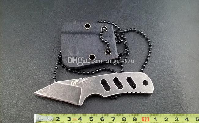how to make a small neck knife