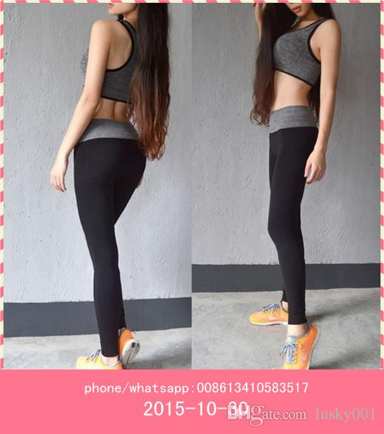 2017 Hot Selling Lady Sports Yoga Pants Exercise Women Yoga Tights ...