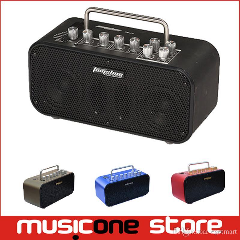 AROMA Colourful Mini 10W Digital Guitar Amp Metal Cabinet 8 Effect ...