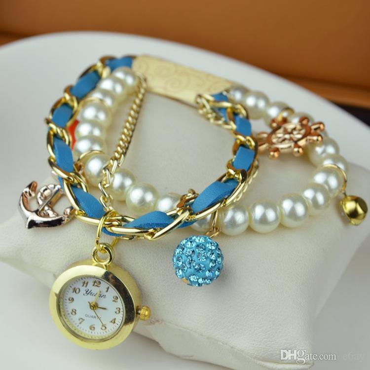 Pearl Bracelet Watch uk Shambhala Pearl Bracelet Watch