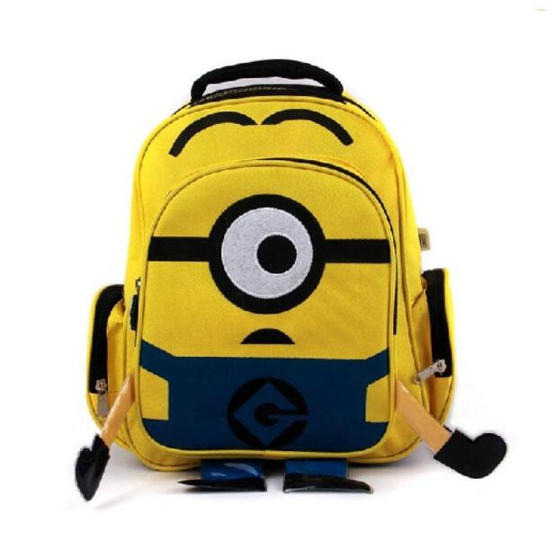 Cute Cartoon Despicable Me 2 Minion Kids Backpacks Beedo Baby Boys ...