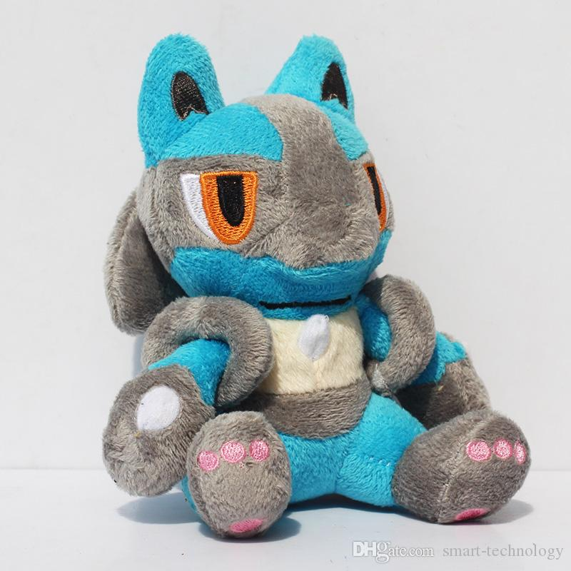 Soft Toys With Pockets : Lucario pocket toy pikachu soft plush doll stuffed animal