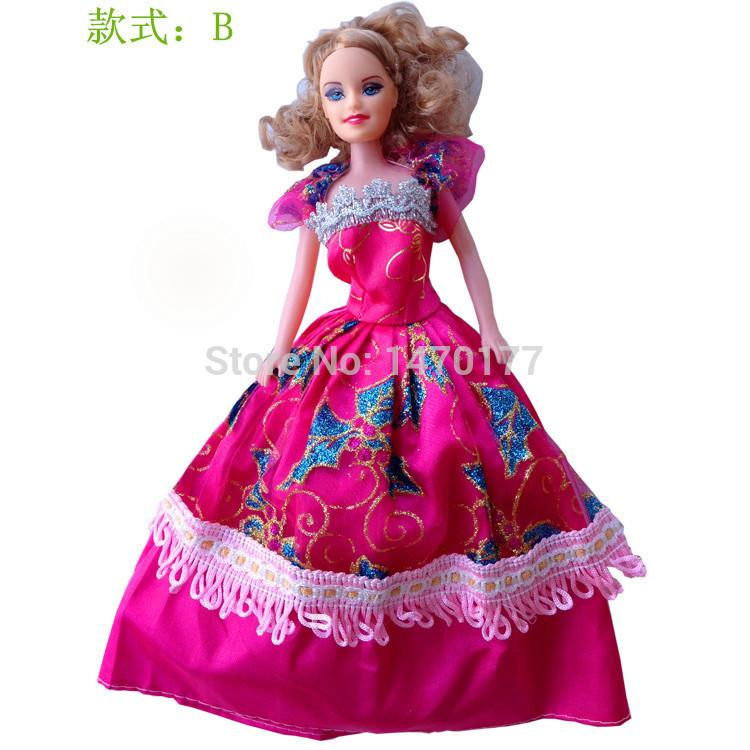 Barbie Toys For Girls : New design popular fashion dolls toys beautiful dress
