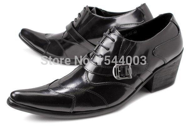 japanese korean style oxford shoes lace up mens dress