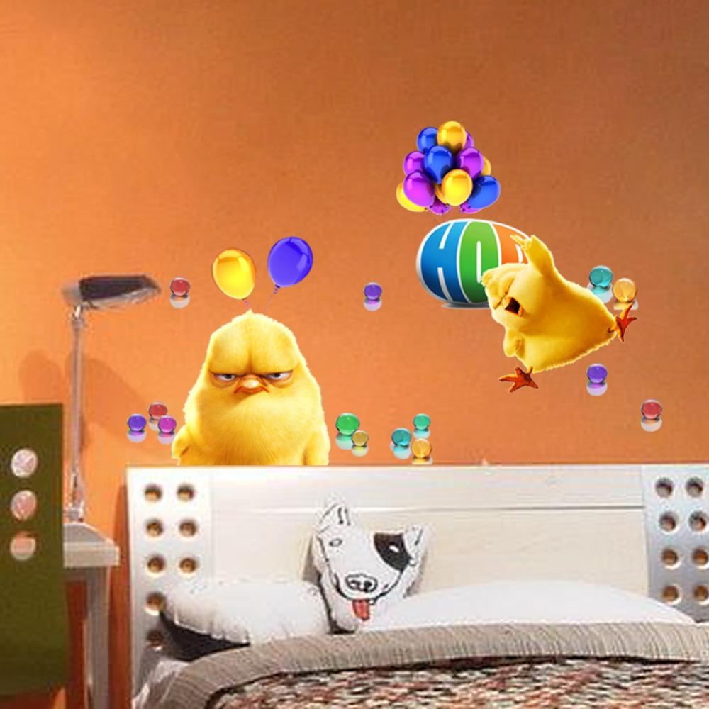 3d decor wall stickers for kids rooms adorable chicken 20 decorative 3d wall art panels and stickers 3d wall decor