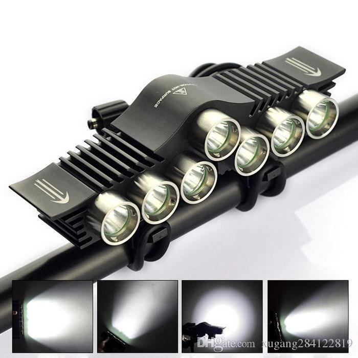 Supper Bright TrustFire 12000LM 7x CREE XM-L2 T6 LED Bicycle Light ...