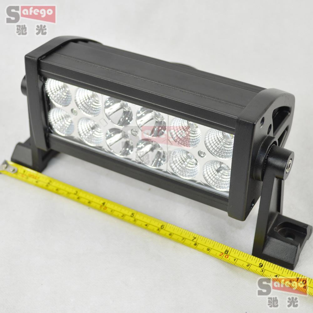 12 volt led light bar 36w 3w high intensity led car light. Black Bedroom Furniture Sets. Home Design Ideas
