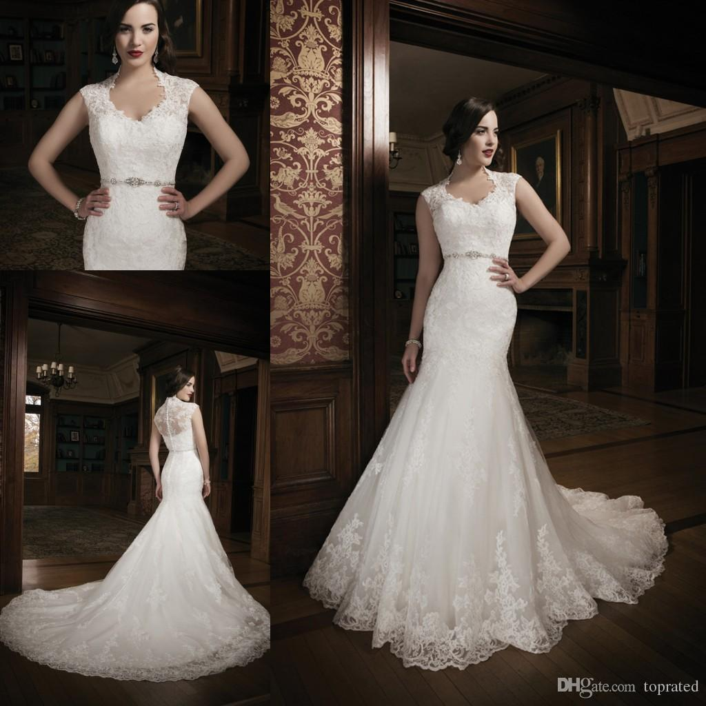 2015 New Arrival Mermaid Lace Wedding Dresses Bridal Gown
