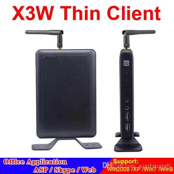Wireless Thin Client X3W Cloud Point Network Terminal avec A9 Dual Core 1.5Ghz 1