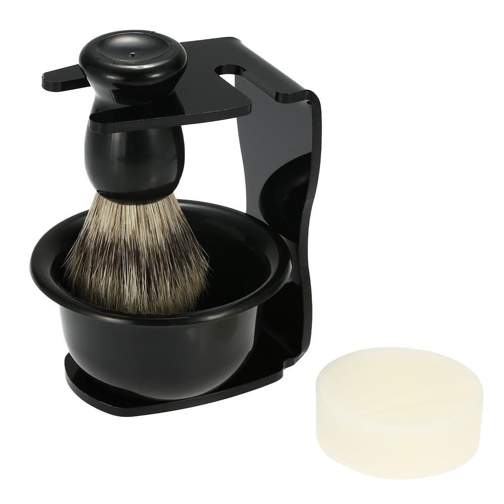 beard shaving kit professional 4 in 1 men 39 s shaving razor set for dry or. Black Bedroom Furniture Sets. Home Design Ideas