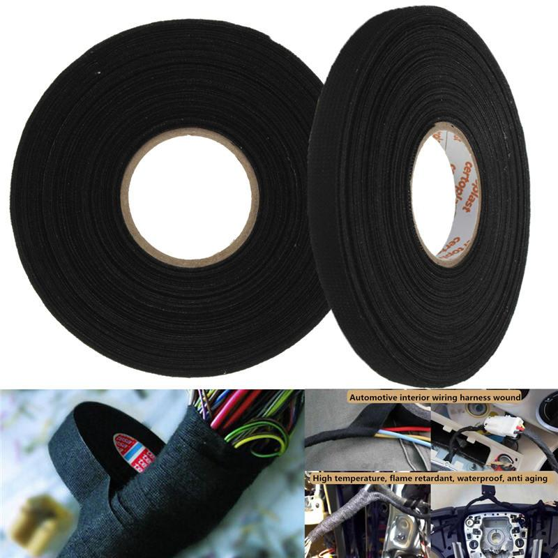 top quality 25mx9mmx0 3mm anti wear adhesive cloth fabric tape see larger image