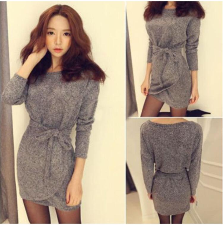 Collection Casual Knit Dresses Pictures - Reikian