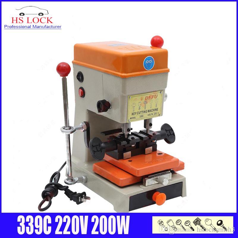Bmw Car Key Cutting: 220v 180w 339c Automatic Duplicated Key Cutting Machine