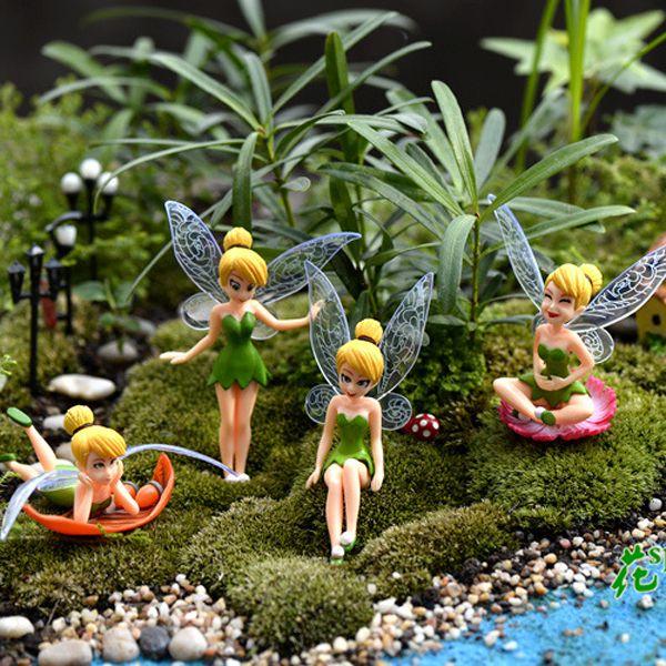 2017 Genius Elf Mini Figure Character Fairy Tale Resin Craft Home Jardin Miniature Terrarium