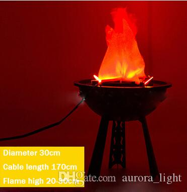 Led Simulated Flame Effect With No Heat Realistic Fire