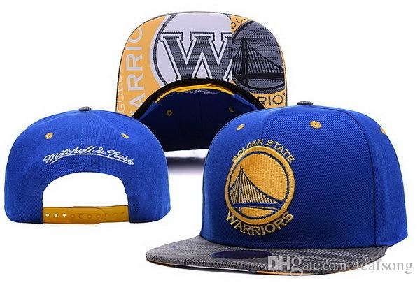 Vente en gros Warriors Snapback Hats Curry Baseball Caps Basket Ball Hats Team S