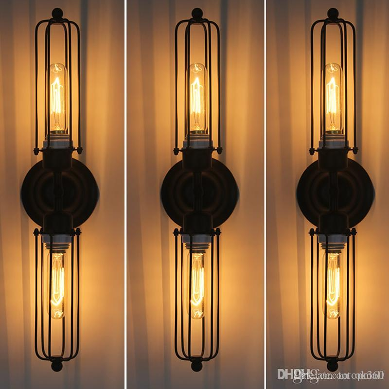 Diy Industrial Wall Sconces : Online Cheap Rh Loft Diy Rustic Edison Wall Lamp Vintage Lamp Industrial Sconce Steampunk ...