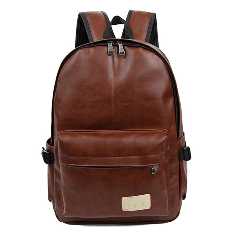 2016 High Quality Leather Rucksack Men'S Backpacks School Bags For ...