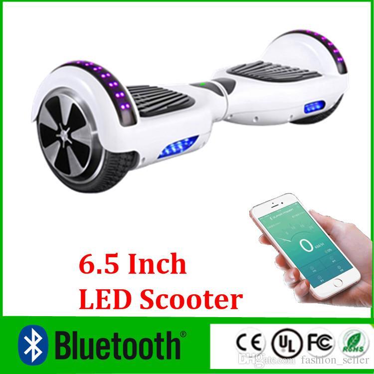 2017 upgrade phone app led scooter bluetooth music player hoverboard electric skateboard smart. Black Bedroom Furniture Sets. Home Design Ideas
