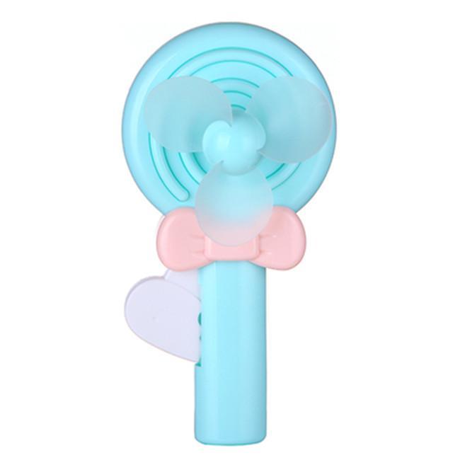 2017 Portable Cartoon Lollipop Electric Hand Fan Mini Hand ...