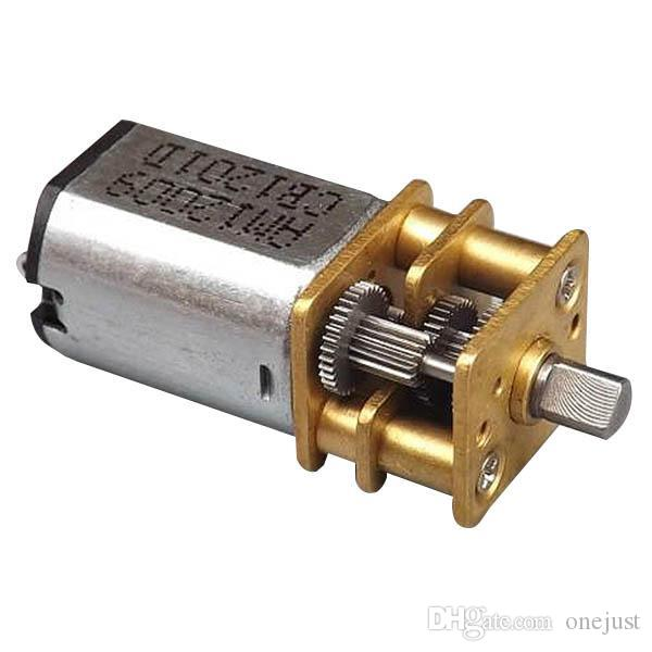 2017 3 6v dc small micro metal geared box electric motor for Small geared electric motors