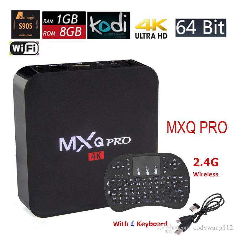 android 5 1 tv box mxq pro amlogic s905 quad core 4k 64bit. Black Bedroom Furniture Sets. Home Design Ideas