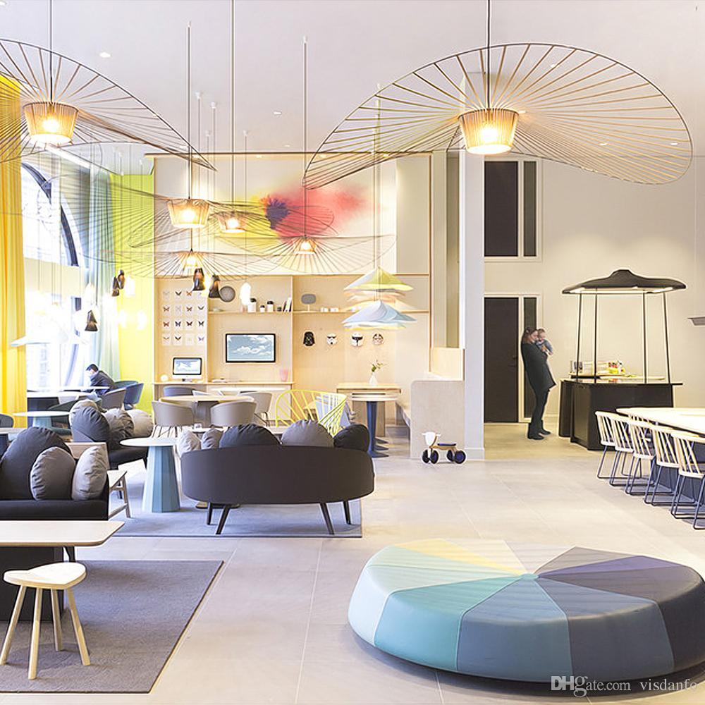 visdanfo d100cm petite friture vertigo pendant restaurant bar boutique creative hat personality. Black Bedroom Furniture Sets. Home Design Ideas