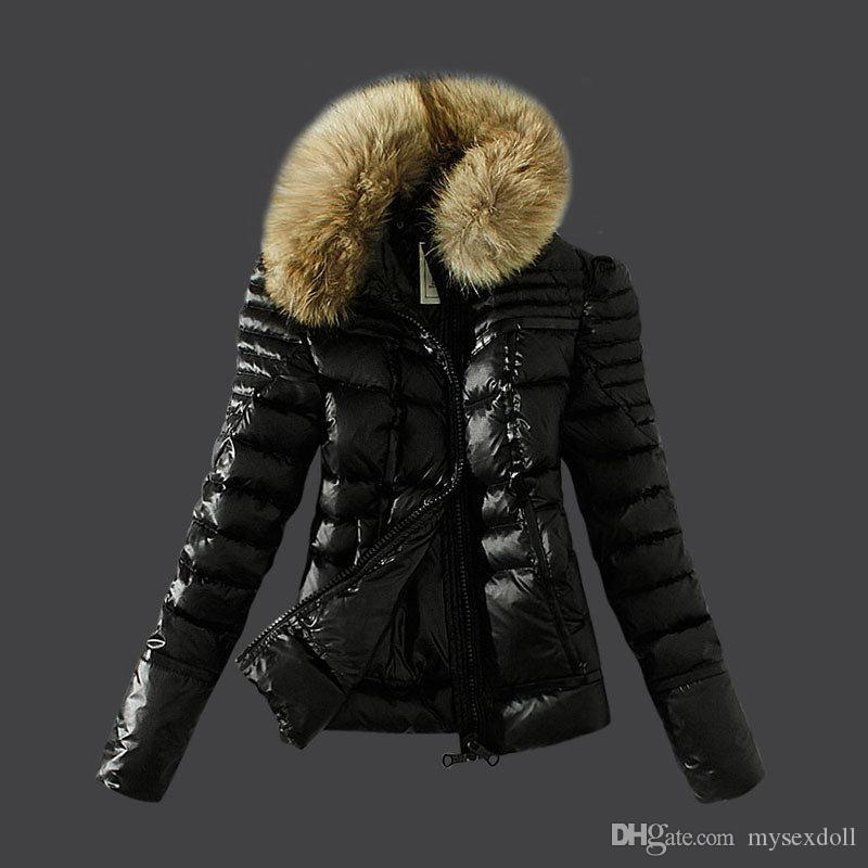 2017 High Quality Down Jacket Ladies Fashion Style White Duck Down