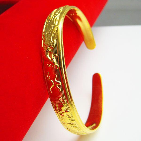 For a long time does not fade imitation gold bracelet for Does gold plated jewelry fade