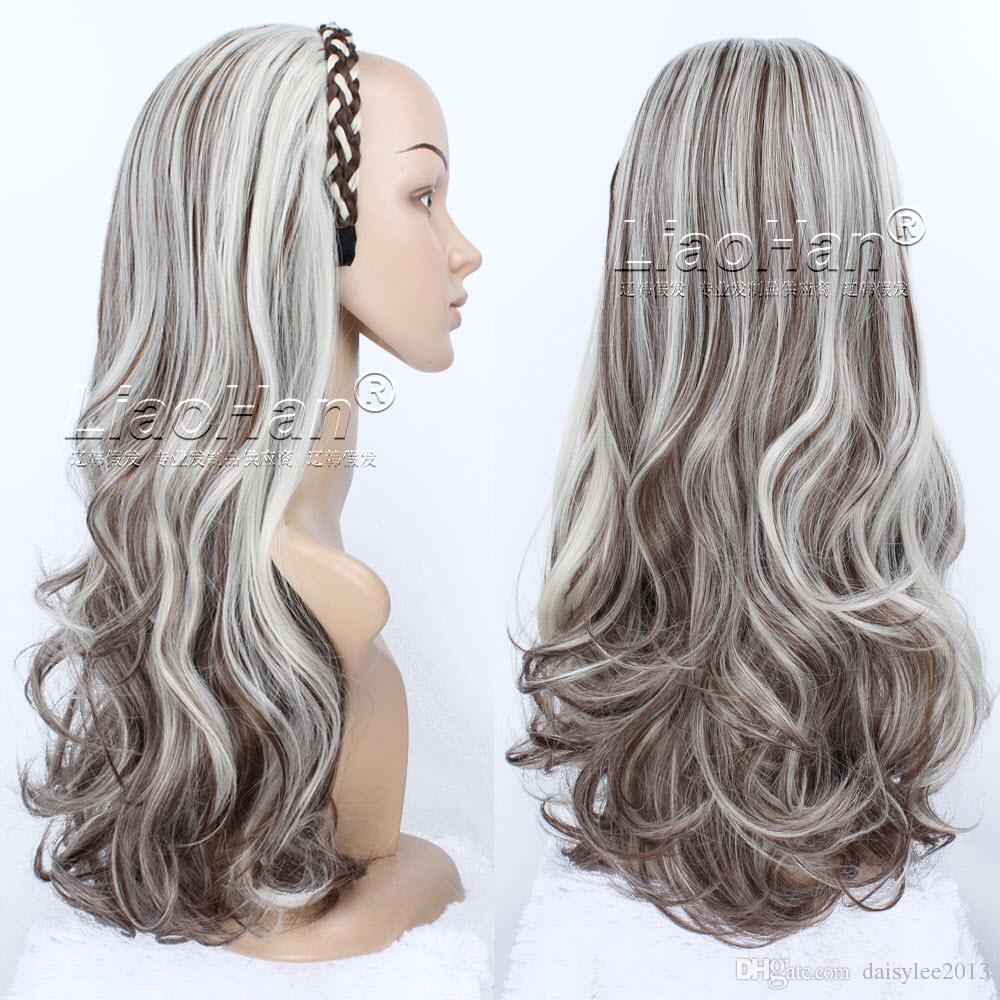 long curly brown hair with blonde highlights hair fall