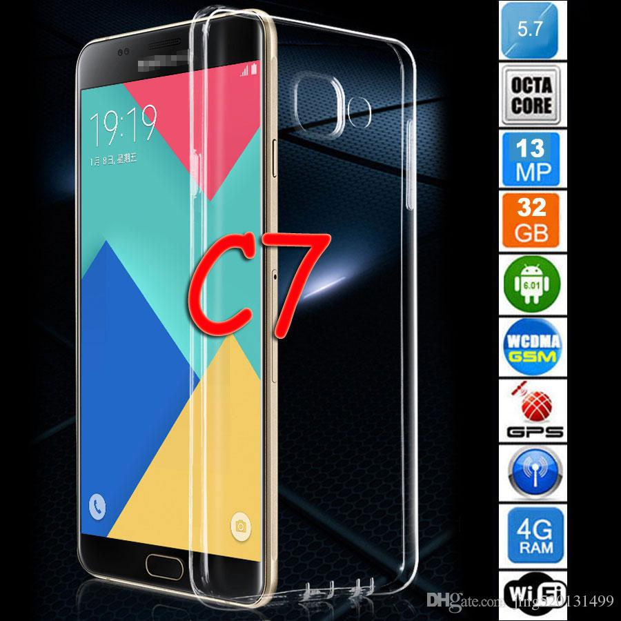 Phone Best Android Phone No Contract 2017 best christmas gift brand new c7 phone unlock smartphone c 7 mtk6592 octa core 4g