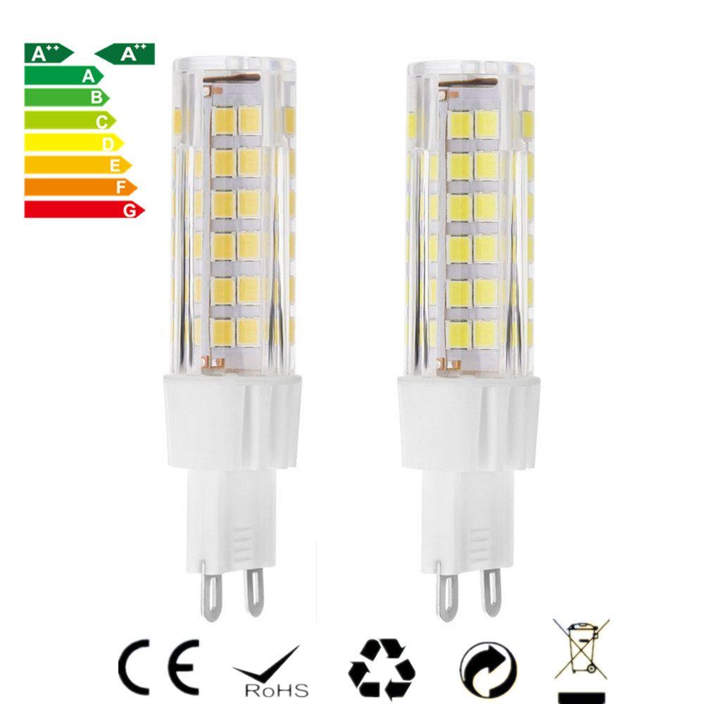 110v Led Light Bulb: G9 LED Light Bulb 75 SMD2835 LED Lamps 7W AC220 110V Equivalent to 60W  Halogen Track,Lighting
