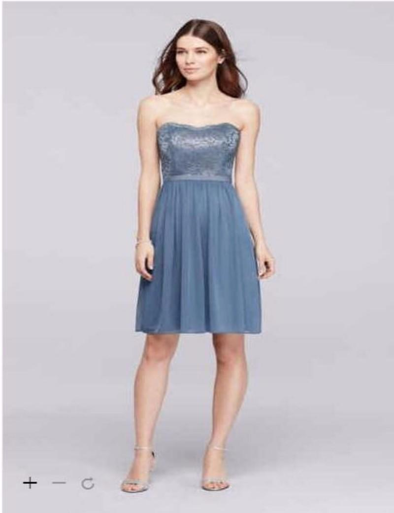 2016 short chiffon bridesmaid dresses strapless with fitted bodice 2016 short chiffon bridesmaid dresses strapless with fitted bodice features combination of lace and chiffon 2xlf18094m gown bridesmad dresses custom made ombrellifo Image collections