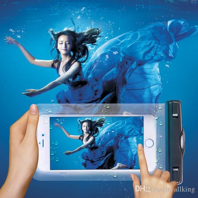 Waterproof Bag Pouch Cases Samsung Galaxy S7 Edge Cubot Note S Diving Underwater Cover Universal Phone