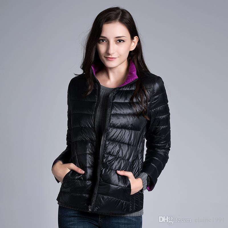 2017 2016 Winter Duck Down Jacket Women Coats Parka Ultra Light ...