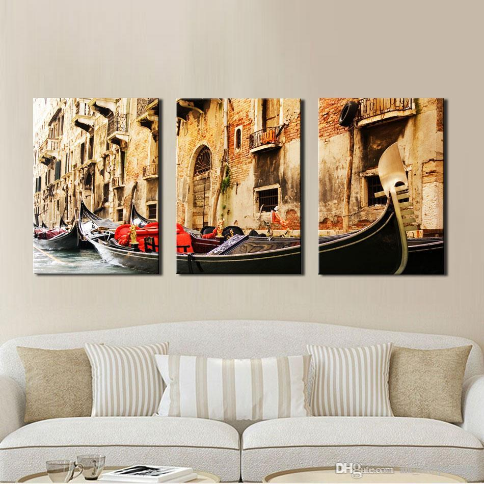 Three Panel Wall Art 3 panel wall art painting on canvas oil painting famous painting