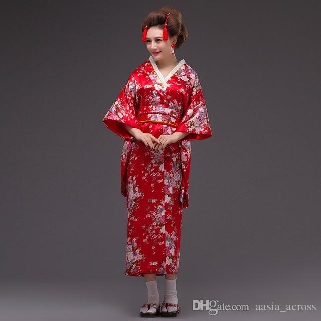 2017 2017 Kimono Dress Traditional Japanese Clothing Geisha ...