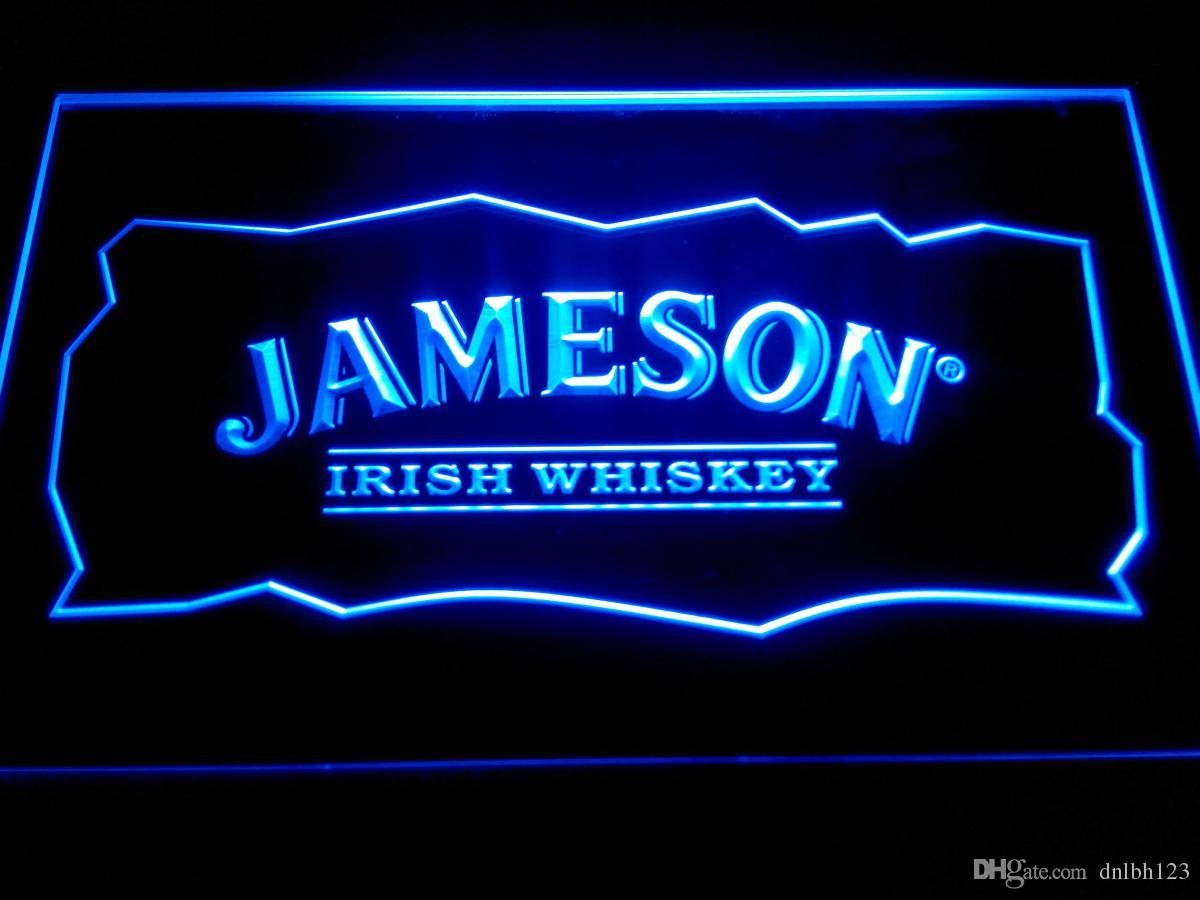 Jameson Whiskey Bar Club Pub Neon Light Sign -LE159b Neon