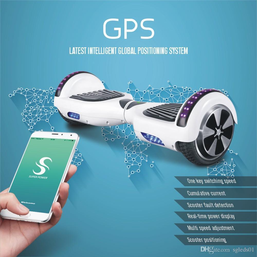 2017 sgleds hoverboard mobile app hoverboard bluetooth unicycle electric skateboard 2 wheels. Black Bedroom Furniture Sets. Home Design Ideas
