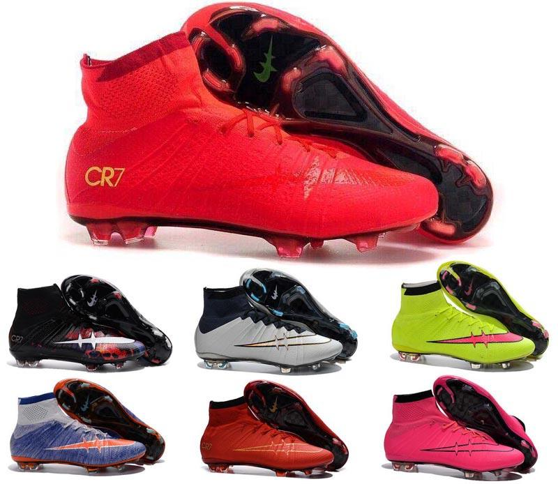 2017 New Arrivals Childrens Soccer Cleats Kid Boy Superfly Cr7 ...