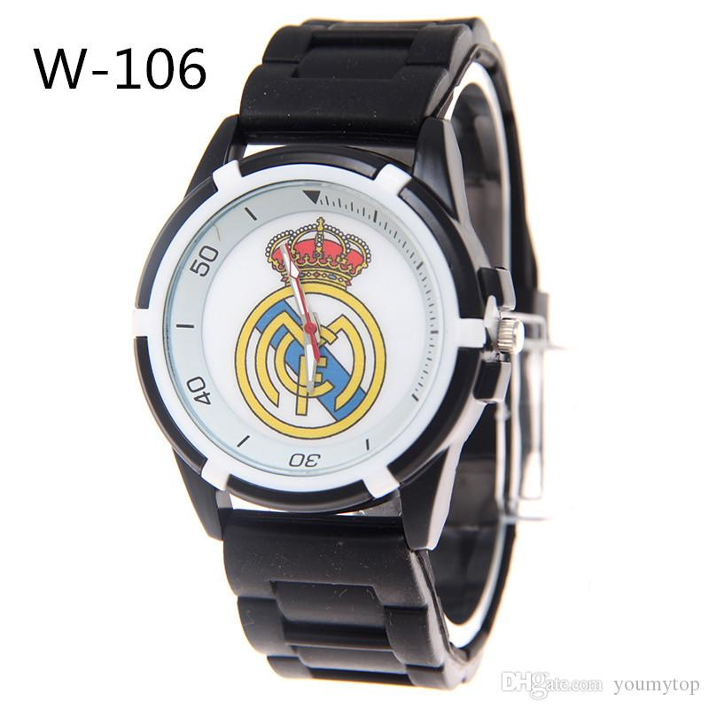 World Cup Soccer Club Watch Fans Men'S Fashion Silicone ...