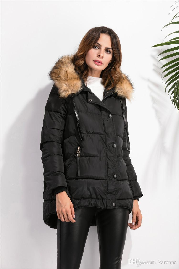 2017 Wholesale New 2016 Winter Coats Women Jackets With ...